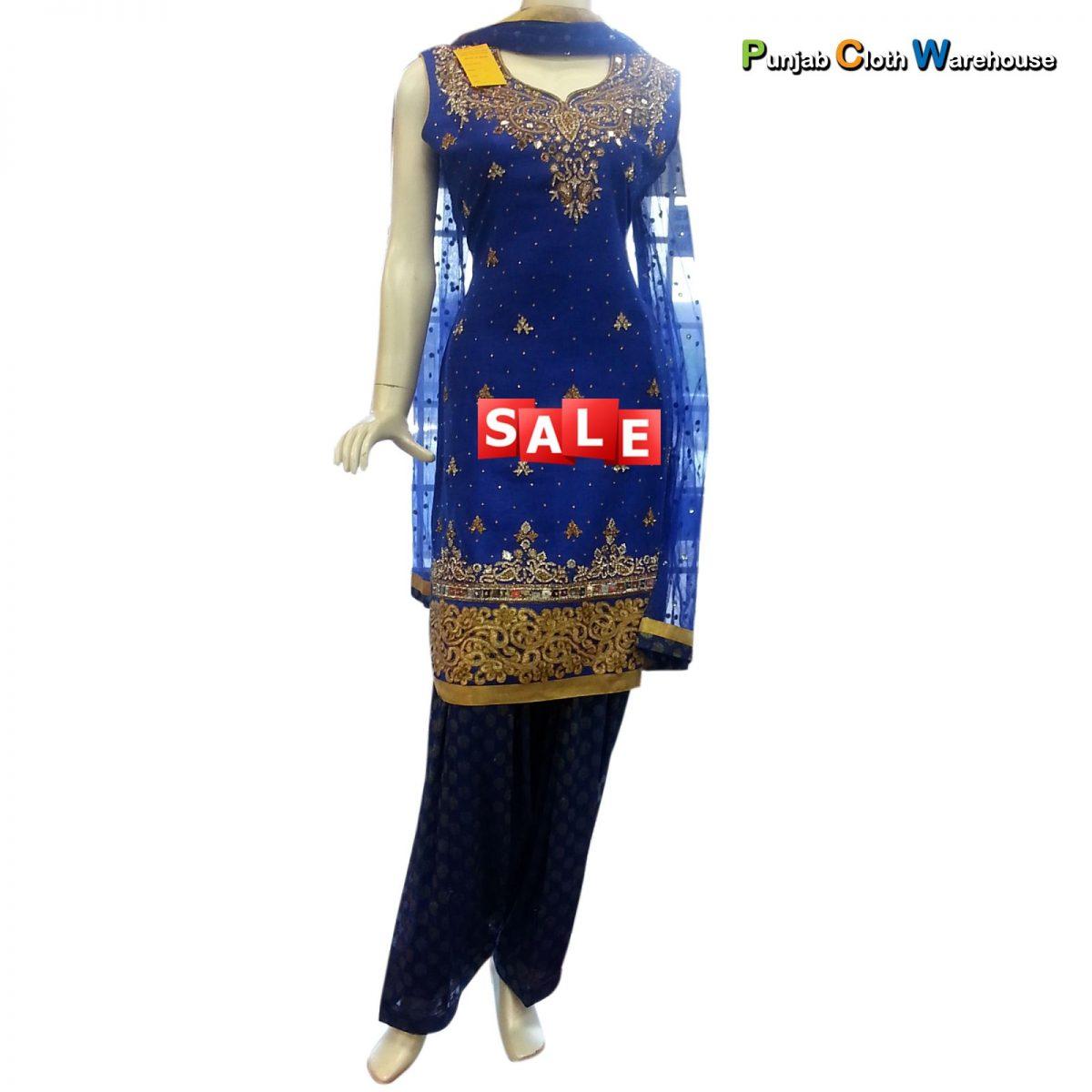 Designer Party Wear Suits, Sarees, Lehengas & Sherwanis (1)
