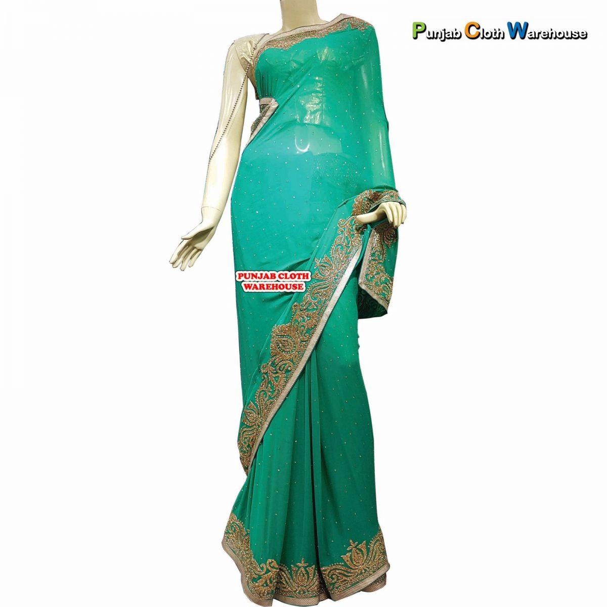 Designer Party Wear Suits, Sarees, Lehengas & Sherwanis (31)