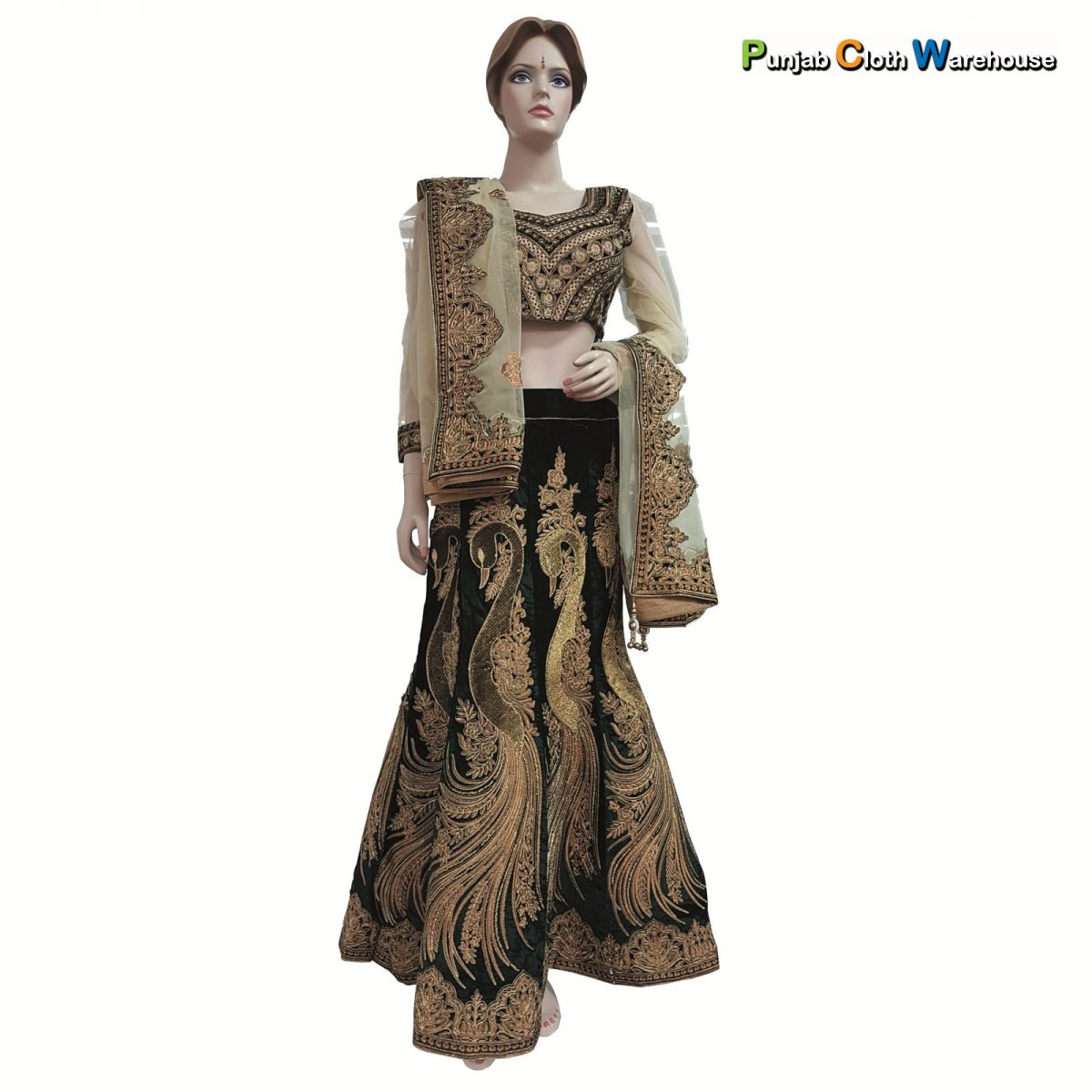 Designer Party Wear Suits, Sarees, Lehengas & Sherwanis (34)