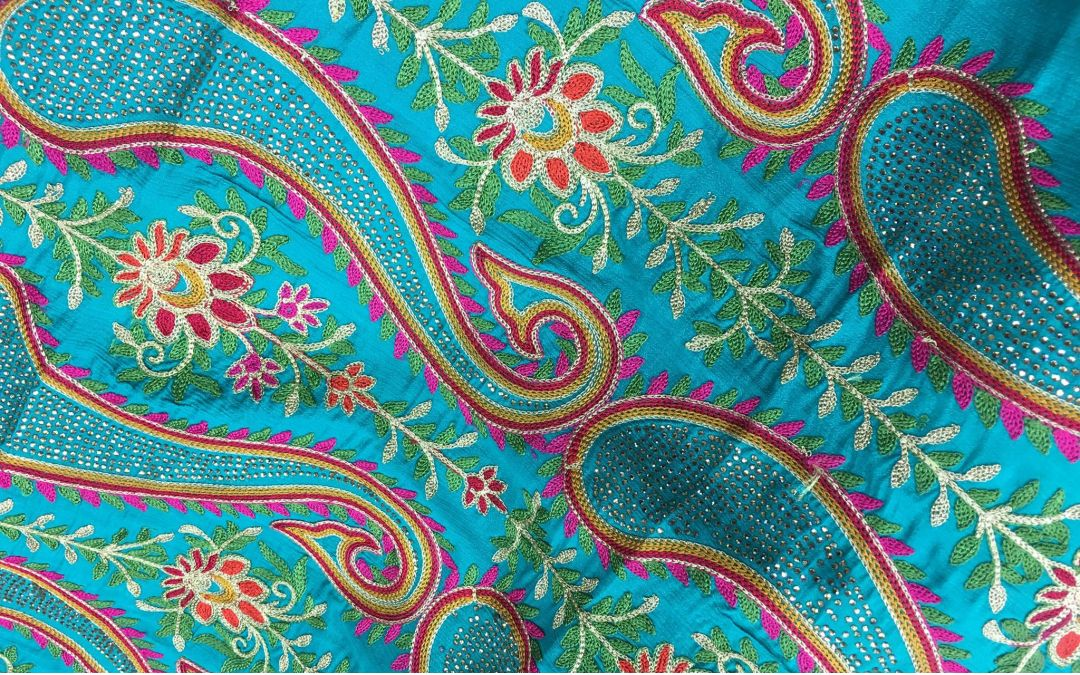 Fabric on Sale for Vaisakhi Parade