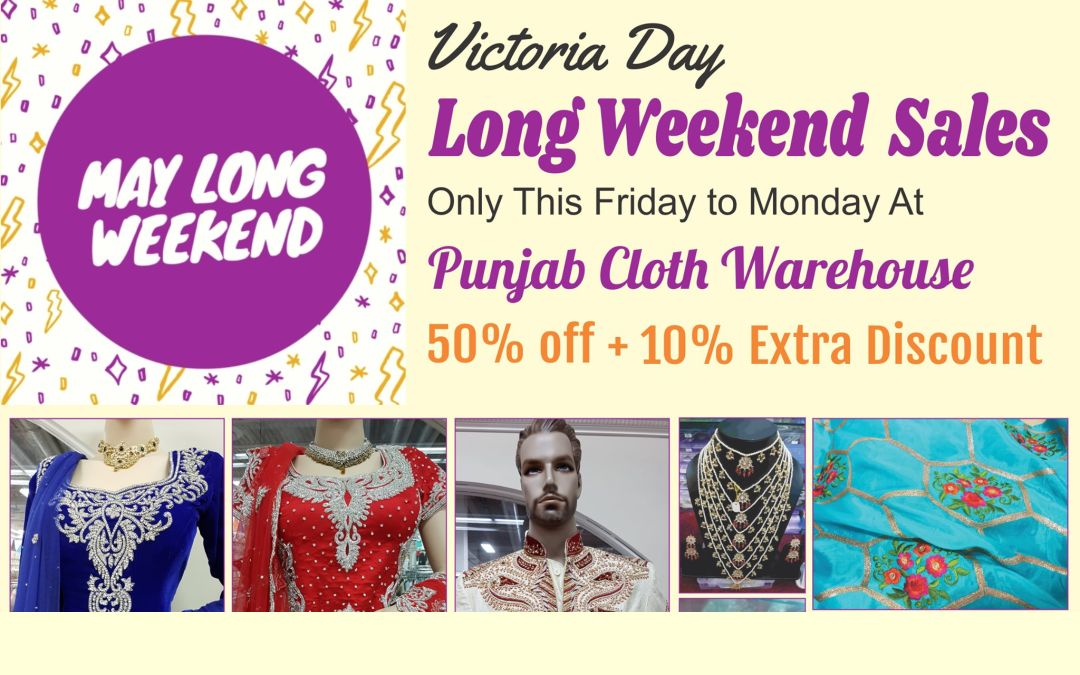 Victoria Day Long Weekend Sales